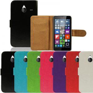 Capa Carteira em Pele Microsoft Lumia 640 XL