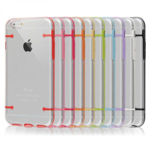 Capa Cristal Transparente Apple iPhone 6 Plus + Película