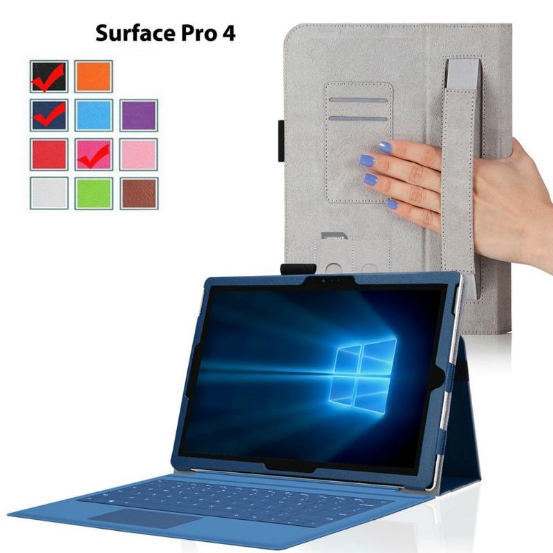 Capa PU Pele Surface Pro 4 2015 12.3''