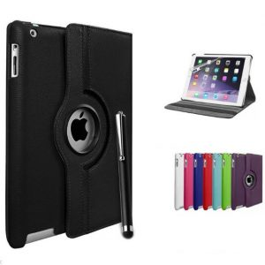 Capa Smart Cover 360 Apple iPad 2 3 4 + Película + Pen