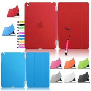 Capa Smart Cover Apple iPad mini 1 2 3 + Película + Pen