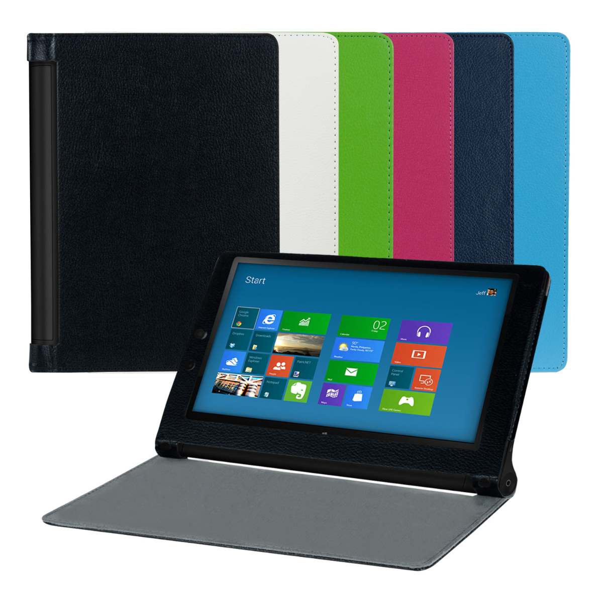 Capa Smart cover PU Pele LENOVO YOGA TABLET 2 10 (1050)