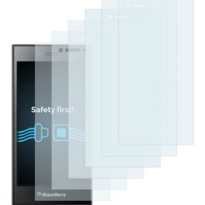 6x Peliculas Transparentes Cristal BlackBerry Leap